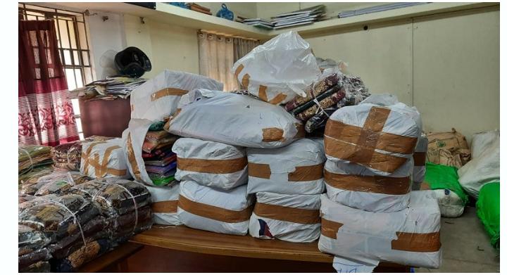 দক্ষিণ সুরমা থেকে কয়েক লক্ষ টাকার ভারতীয় চোরাচালান পণ্য আটক