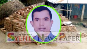 """জৈন্তাপুরে সরকারি রাস্তার ইট ইউপি সদস্য বিলাল""""র বাড়িতে"""