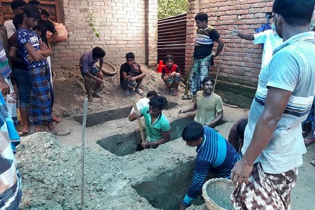 বজ্রপাতে বাবাসহ ১২ স্বজনকে হারালেন বর